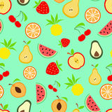 Summer fruits Royalty Free Stock Image