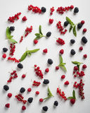 Summer fruits on a table Stock Photography