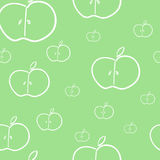 Summer fruts background pattern in vector. Royalty Free Stock Photos