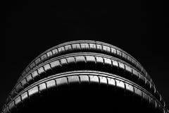 Summer fuel efficient car tires on black background stock image
