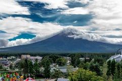 Summer Fuji mt. stock photos