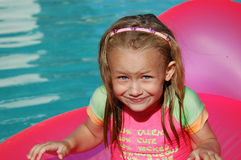 Summer fun child Stock Images
