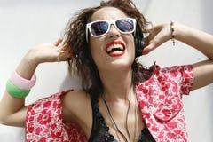 Summer fun dance girl 2 Stock Photography