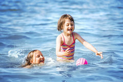 Summer Fun Sea Royalty Free Stock Images