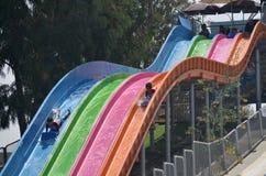 Summer fun at water park Royalty Free Stock Photography