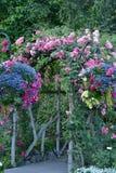 Summer garden archway Stock Image