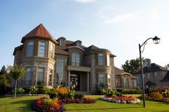 Summer Garden House Home Royalty Free Stock Photo