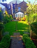 Summer Garden in London Stock Image