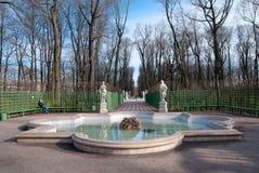 The Summer Garden in Saint-Petersburg. Russia Stock Photography