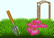 Summer gardening Stock Photos