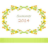 Summer garland Royalty Free Stock Photo