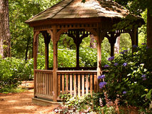 Summer Gazebo Royalty Free Stock Photography