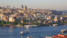 Summer general view at Instanbul, Turkey stock video footage