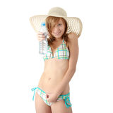 Summer girl Royalty Free Stock Images