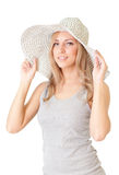 Summer girl Stock Image