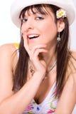 Summer girl Royalty Free Stock Image