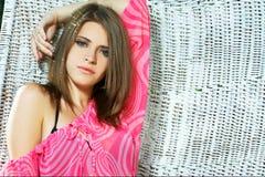 Summer girl Stock Image