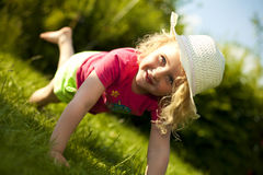 Summer girl - child Stock Photos