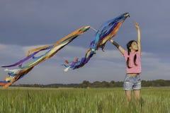 Summer girl child Royalty Free Stock Photo