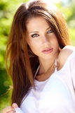 Summer girl portrait Stock Images
