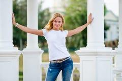 Summer girl portrait Stock Photos