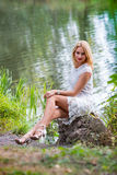 Summer girl portrait Royalty Free Stock Photography