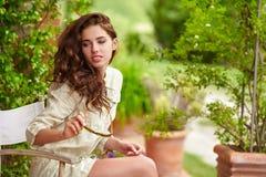 Summer girl portrait. Royalty Free Stock Photos