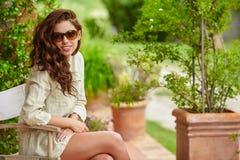 Summer girl portrait. Stock Photos