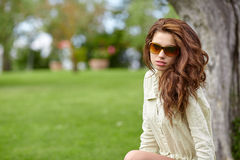 Summer girl portrait. Royalty Free Stock Photography