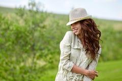 Summer girl portrait. Stock Images