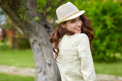 Summer girl portrait. Royalty Free Stock Image