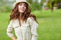 Summer girl portrait. Stock Image
