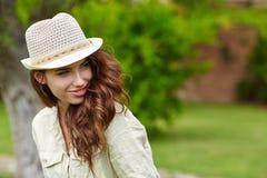 Summer girl portrait. Royalty Free Stock Photo