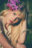 Summer girl portrait Royalty Free Stock Images