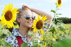Summer girl Royalty Free Stock Photos