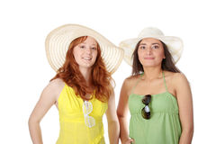 Summer girls Royalty Free Stock Photos