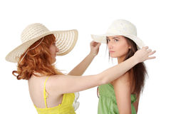 Summer girls Royalty Free Stock Images