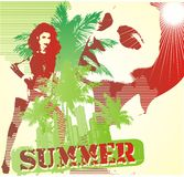 summer girls Royalty Free Stock Photography