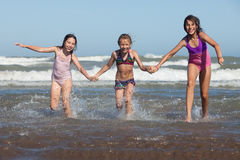 Summer girls Royalty Free Stock Photo
