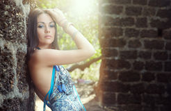 Summer glamour Stock Photo