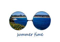 Summer glasses Royalty Free Stock Photos