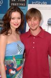 Summer Glau,Cole Williams Royalty Free Stock Photos