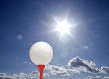Summer golf Royalty Free Stock Photos