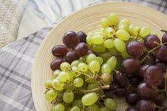 Summer grapes Stock Image