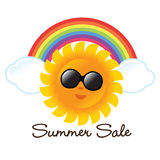 Summer Graphic Isolated Stock Photography