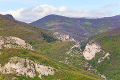 Summer Great Crimean Canyon Stock Images