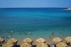Summer in Greece Stock Image