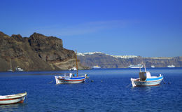 Summer Greek islands view Stock Photo