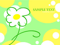 Summer greetings card. With place for text Stock Images