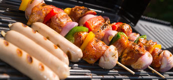 Summer grill party Stock Photo
